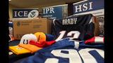 Slideshow: Seized NFL counterfeit merchandise - (5/6)