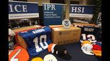 Slideshow: Seized NFL counterfeit merchandise - (1/6)