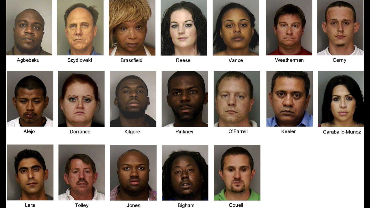 19 arrested in Polk Co  online prostitution sting | WFTV
