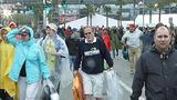 Slideshow: Fans disperse after race postponed - (1/10)