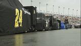 Slideshow: Fans disperse after race postponed - (10/10)