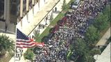 Thousands march to Trayvon Martin rally - (3/10)