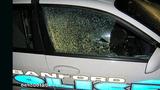 Sanford police car riddled with bullets - (1/4)