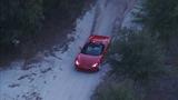 Taking the customer's Corvette - Aerial images - (23/24)