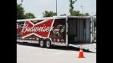 Harvick, Keselowski and Kahne NASCAR cars on display - (6/16)