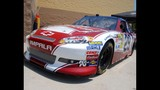 Harvick, Keselowski and Kahne NASCAR cars on display - (9/16)