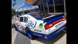 Harvick, Keselowski and Kahne NASCAR cars on display - (5/16)
