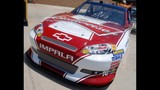 Harvick, Keselowski and Kahne NASCAR cars on display - (13/16)
