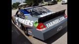 Harvick, Keselowski and Kahne NASCAR cars on display - (14/16)