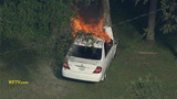 Photos: Shooting suspect's car on fire - (9/17)