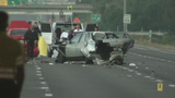 Images from fatal I-4 crash in Orlando - (10/12)