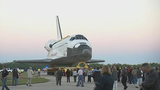 Images from Atlantis' final journey at KSC - (12/17)