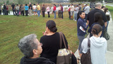 Photos: Voting lines in central Florida - (2/7)