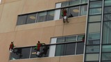 High flying elves wash windows at Nemours… - (2/10)