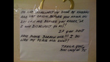 Photos: Angry notes caught on camera - (20/25)