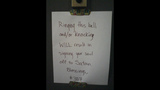 Photos: Angry notes caught on camera - (5/25)