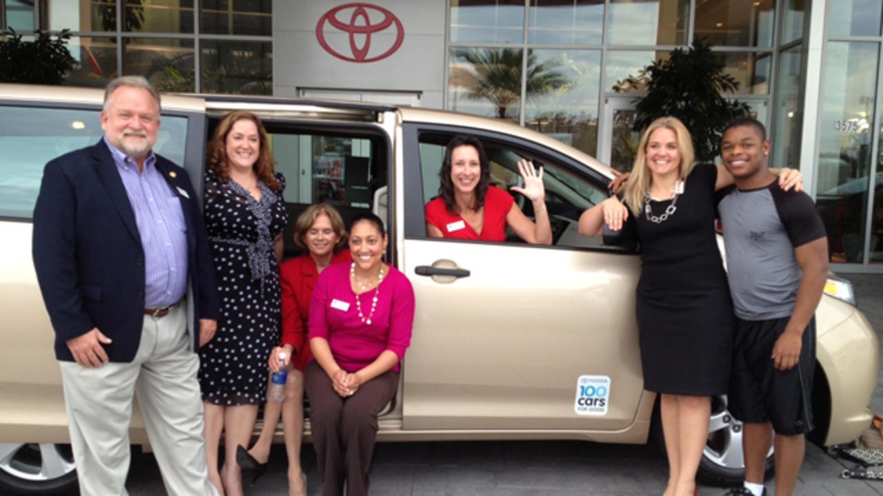 Toyota of Orlando donates vehicle to disadvantaged youth