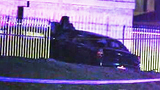 Photos: Driver crashes into power pole, water… - (5/6)