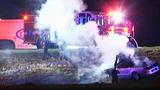 Photos: 2 hurt in Lake Mary crash, shooting - (5/12)