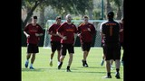 AS Roma Winter Training in Orlando - (9/25)