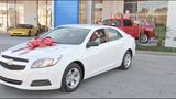 Win a Car for Christmas Sweepstakes Winner - (3/4)