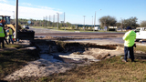 Photos: Oviedo water main break - (3/6)