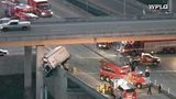 Photos: Truck dangles off I-95 overpass - (3/6)
