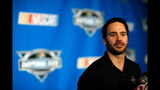 NASCAR stars face the media - (3/25)
