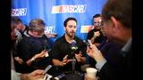 NASCAR stars face the media - (2/25)