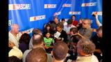 NASCAR stars face the media - (1/25)