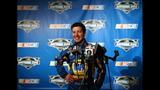 NASCAR stars face the media - (4/25)