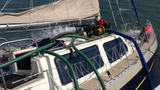 Photos: Scramble to save sinking sailboat - (6/18)
