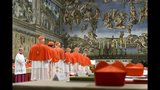 Crowds celebrate as Pope Francis is introduced - (2/25)