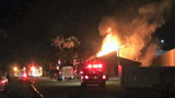 Photos: Fire destroys mobile home park office - (5/10)