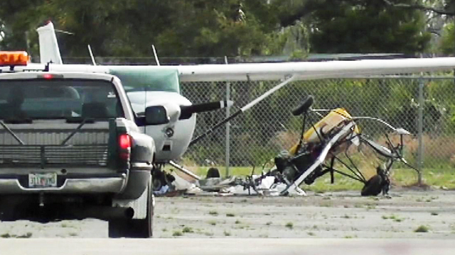 1 killed in gyrocopter crash at Brevard airport | WFTV