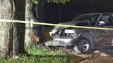 Photos: Suspect caught following crash - (1/10)