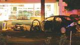 Photos: Man crashes into gas pump - (3/8)