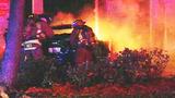 Photos: Man crashes into gas pump - (1/8)