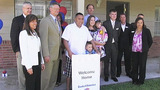 Photos: Army vet gets mortgage-free home - (3/8)
