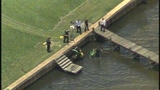 Photos: Man drives lawnmower into Indian River - (3/8)
