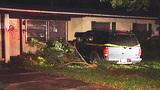 Photos: SUV crashes into Orange Co. home - (7/8)