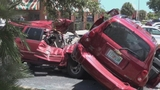 Photos: Nasty crash outside Palm Bay Applebee's - (1/6)