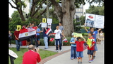 Photos: Rally for Egypt in downtown Orlando - (2/21)