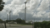 Photos: Sanford cell tower catches fire - (11/11)