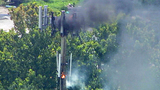 Photos: Sanford cell tower catches fire - (2/11)