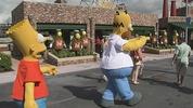 Springfield attractions at Universal Studios Orlando