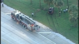 Photos: Car crashes into tree on I-4 - (5/6)
