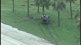 Photos: Car crashes into tree on I-4 - (4/6)