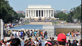 Scenes from the March on Washington commemoration - (24/25)