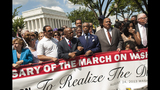 Scenes from the March on Washington commemoration - (19/25)